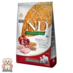 N&D Ancestral Grain Adult с Пиле и Нар за порастнали кучета от средни и големи породи 12кг
