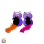 Играчка мишле с пухкава опашка за коте с котешка мента World of Pets