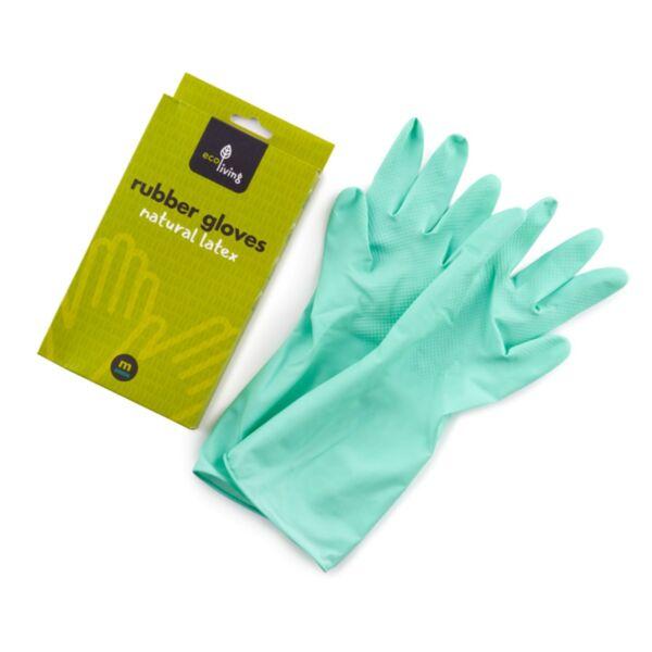 Ръкавици от естествен латекс - Биоразградими и компостируеми - (3 размера)