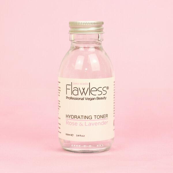 Flawless - Хидратиращ тонер - роза и лавандула - 200 мл.
