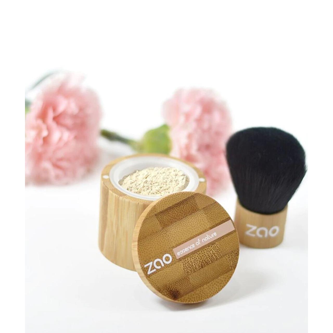 ZAO Organic - Mineral Silk - Прахообразен фон дьо тен - 15 гр.