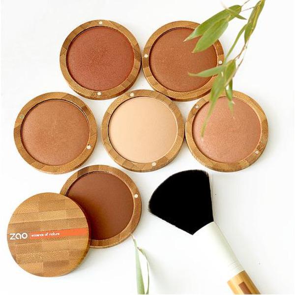 ZAO Organic - Печена пудра и пресован минерален фон дьо тен