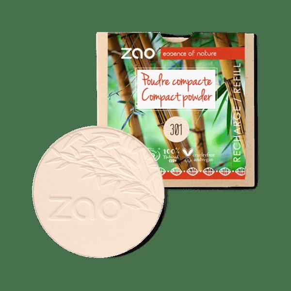 ZAO Organic - Компактна пудра - ПЪЛНИТЕЛ