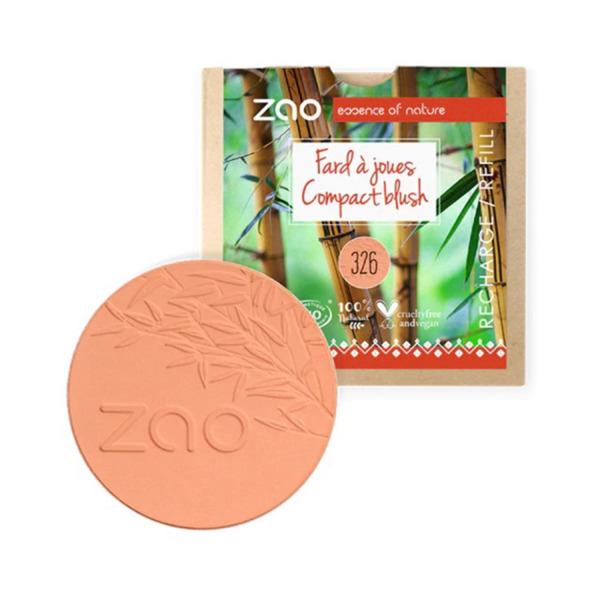 ZAO Organic - Компактен руж - 9гр. (6 цвята) - ПЪЛНИТЕЛ