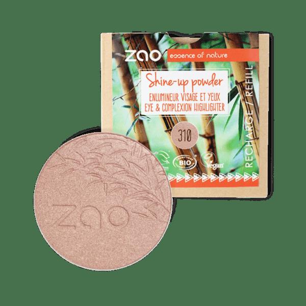 ZAO Organic - Хайлайтър Shine-up 310 - 9гр. - ПЪЛНИТЕЛ
