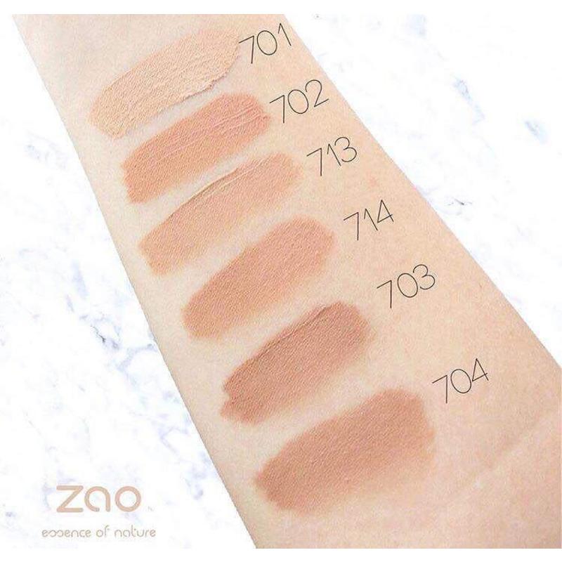 ZAO Organic - Копринен течен фон дьо тен - 30 мл.-Copy