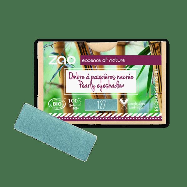 ZAO Organic - Правоъгълни сенки за очи - ПЪЛНИТЕЛ - 27 Цвята