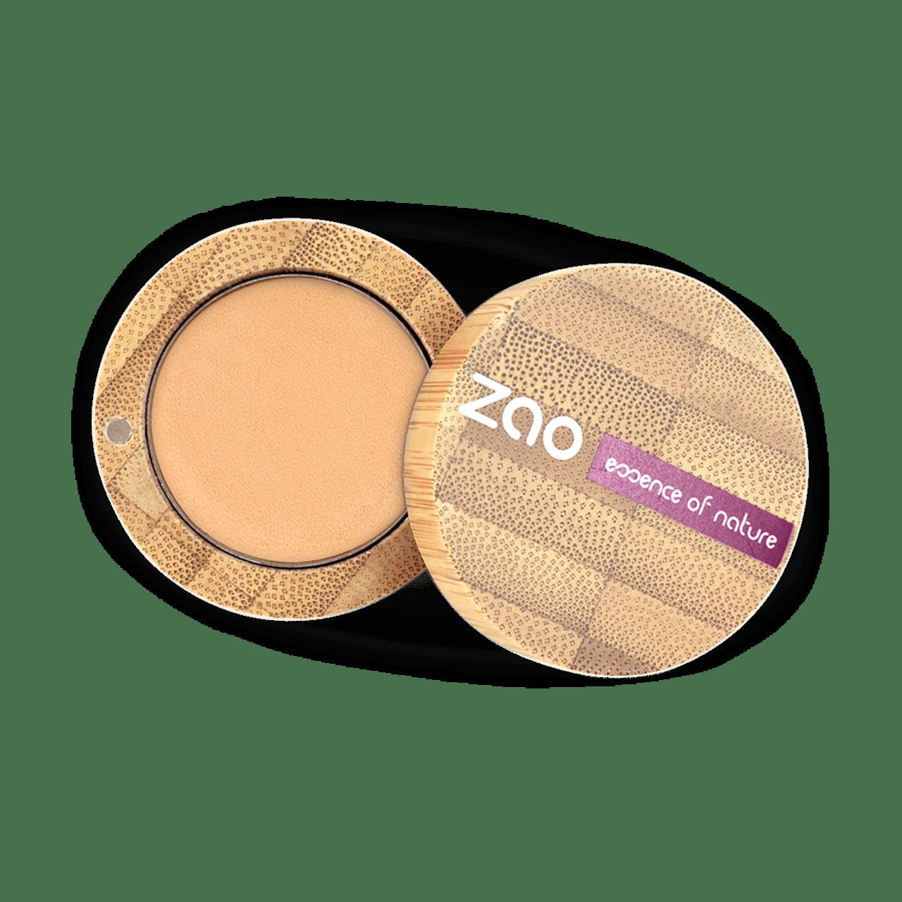 ZAO Organic - Ултрапокривен фон дьо тен със сребро - 5 цвята-Copy