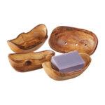 Сапунерка от маслиново дърво - овална-Copy
