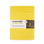 Комплект компостируеми гъби за почистване и попиване (х4) - Аnimal-Copy