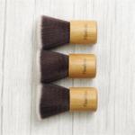 Веган бамбукова малка плоска четка - Small Flat Brush-Copy