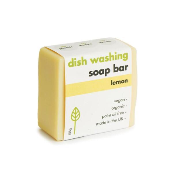 EcoLiving Сапун за миене на съдове с аромат на лимон