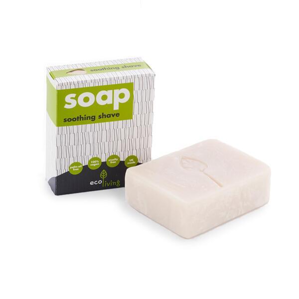 ЕcoLiving Сапун за бръснене - 100 гр.