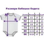 Бебешко боди с персонализиран принт - Доктор 5-Copy
