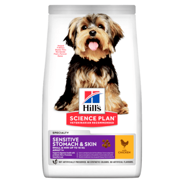 Hill's Science Plan Adult Small & Mini Sensitive Stomach & Skin Chicken