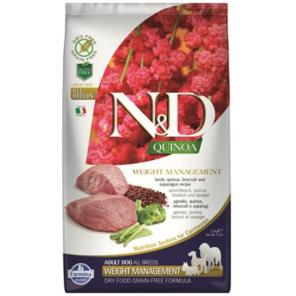 N&D Quinoa Weight Management Lamb & Broccoli