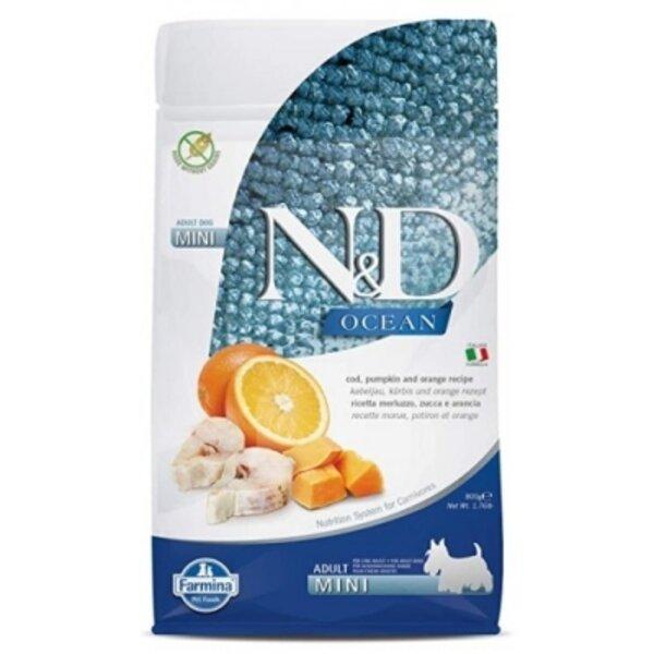 N&D Pumpkin Codfish & Orange Adult Mini