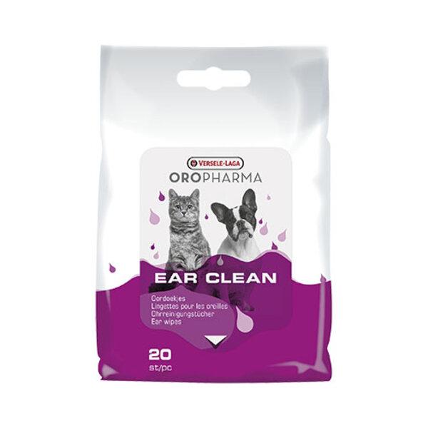 Oropharma Ear Clean - Мокри кърпички за почиствене на уши