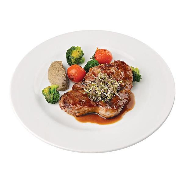 Свинска Вратна пържола с трюфел паста