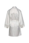 Satin robe