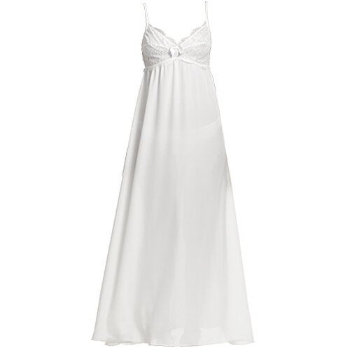 Long nightdress бяла