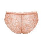 Slip with elastic lace