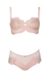 Wired bra from chantilly lace
