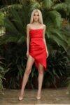 I-AM SUMMER STYLES LINE  Асиметрична рокля корсет с цепка