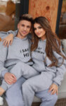 I-AM The Cozy Winter Couples Hoodie Boy