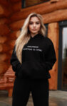 I-AM Cozy Winter Couples hoodie girl