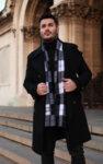 I-AM STYLISH WINTER шал с бродерия