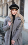I-AM STYLISH WINTER шапка с метални детайли