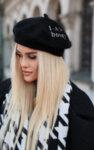 I-AM STYLISH WINTER шапка с бродерия