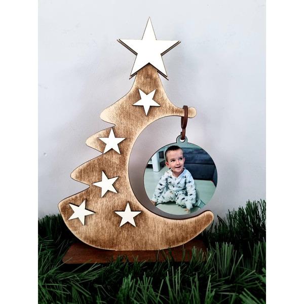 Коледна елха със снимка