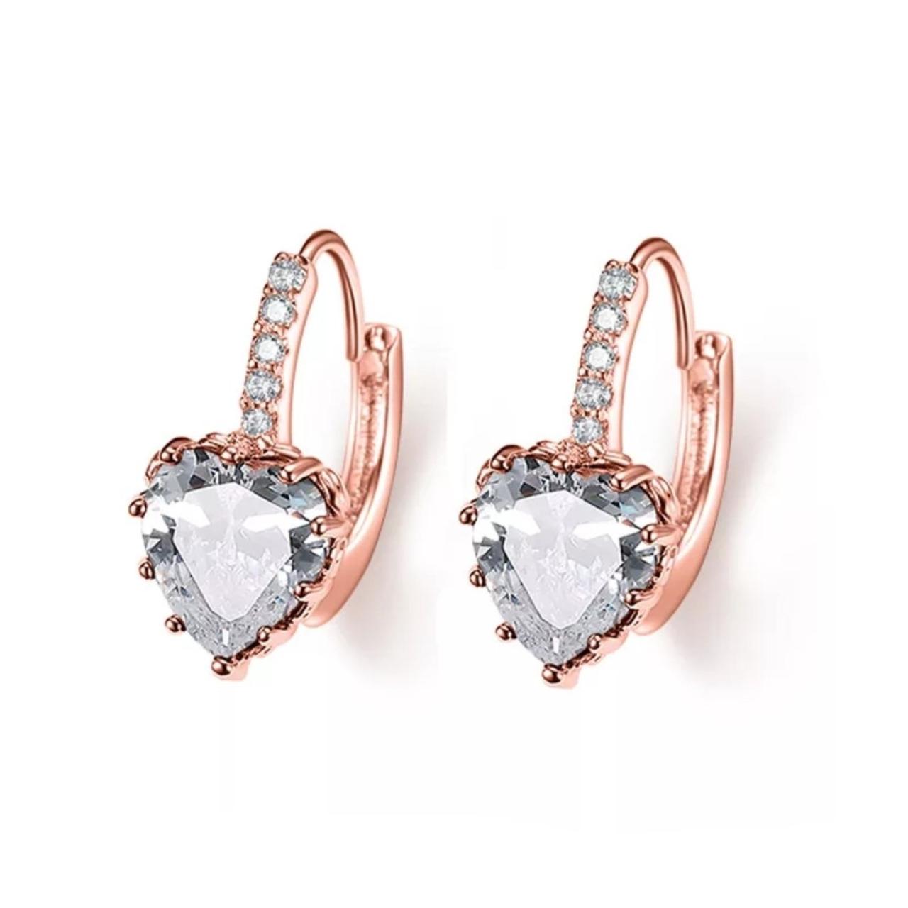 Обеци Diamond Heart