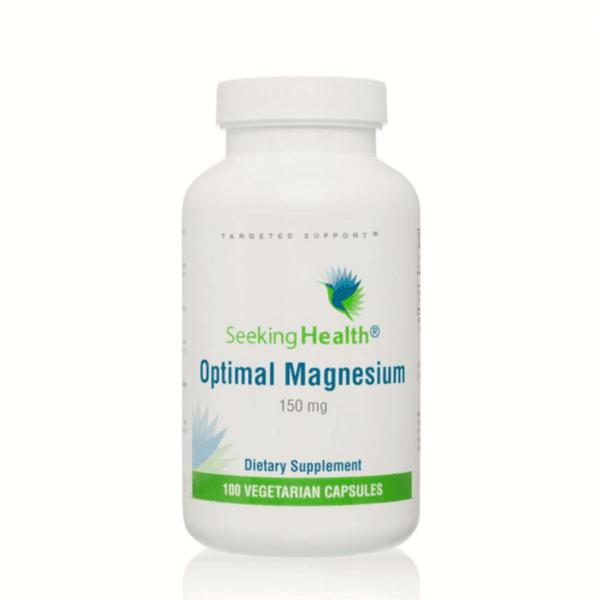 Магнезий Optimal Magnesium (150 мг,100 капсули)