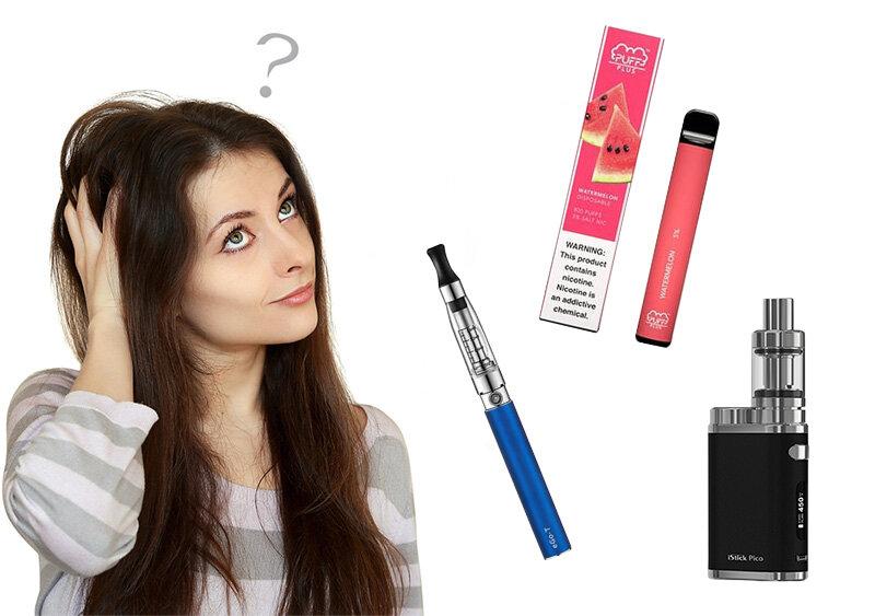 Електронна цигара, електронно наргиле и вейп - какви са разликите и как да ги разпознаем?