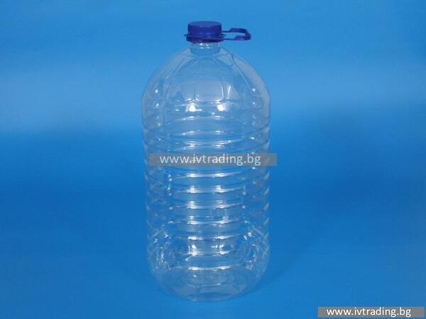 Пластмасова бутилка 10 л.