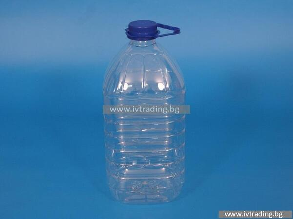 Пластмасова бутилка 5 л.