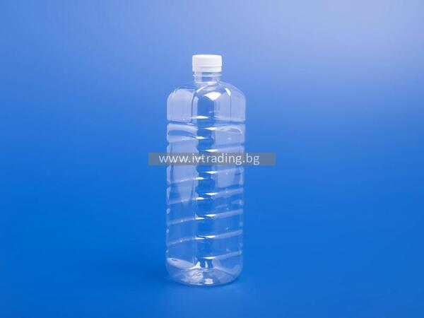 Пластмасова бутилка 1л.
