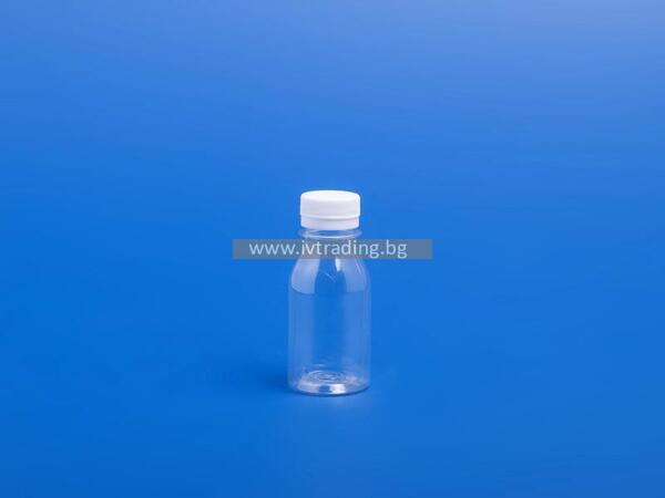 Пластмасова бутилка 100 мл.
