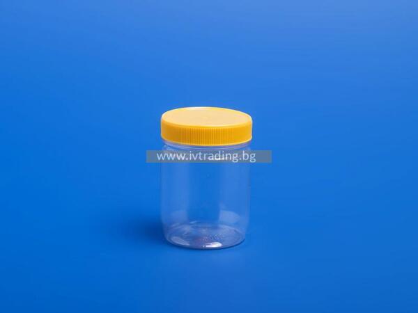 Пластмасов буркан за 250гр. мед