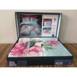 Спален комплект от лукозен памучен поплин 100% памук Макси