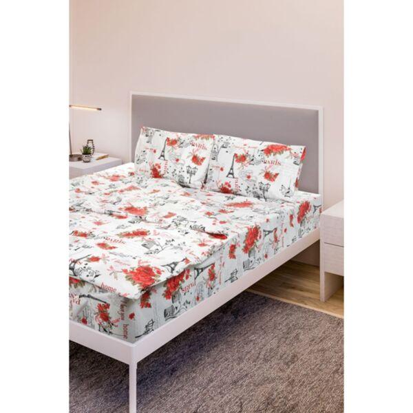Единичен спален комплект Daily Red Rose