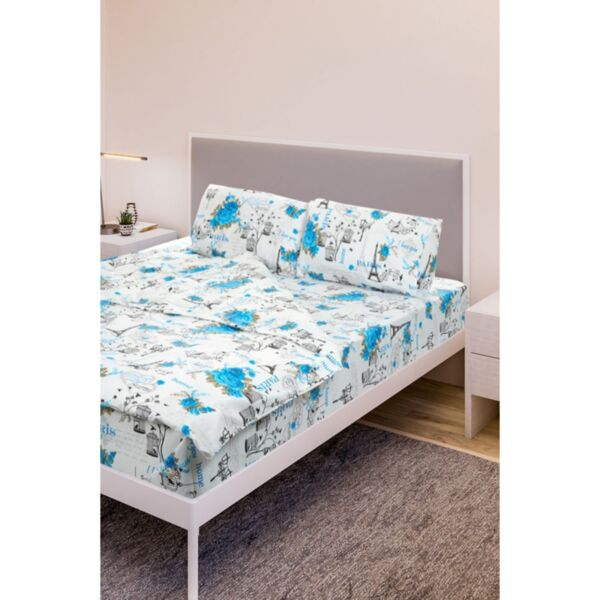 Двоен спален комплект Daily Blue Rose