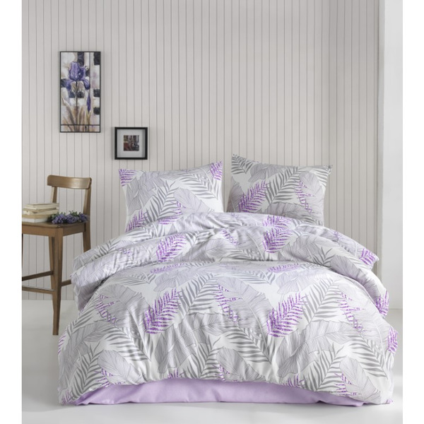 Двоен спален комплект пике Ирина лила