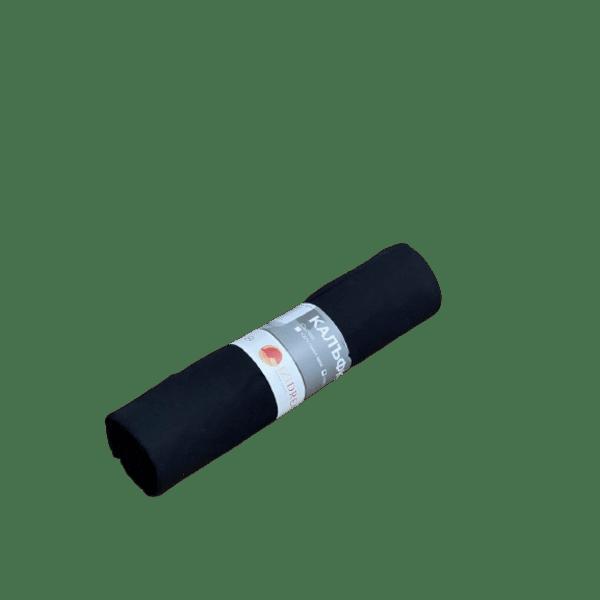 Комплект от 2 калъфки супер ранфорс в черен цвят