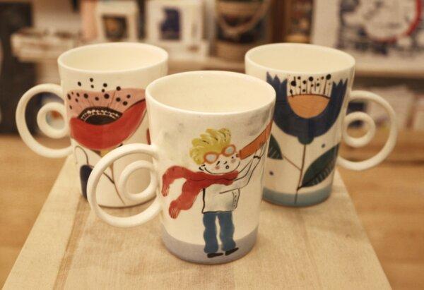 Чаша за чай с илюстрация