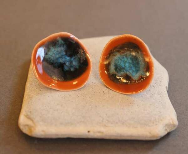 Керамични обеци