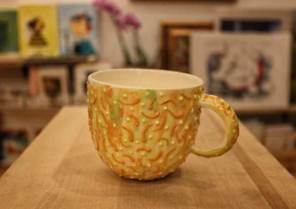 Ръчно изрисувани чаши за кафе/ чай